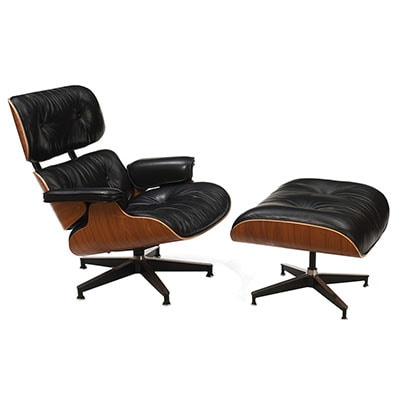 a leather chair