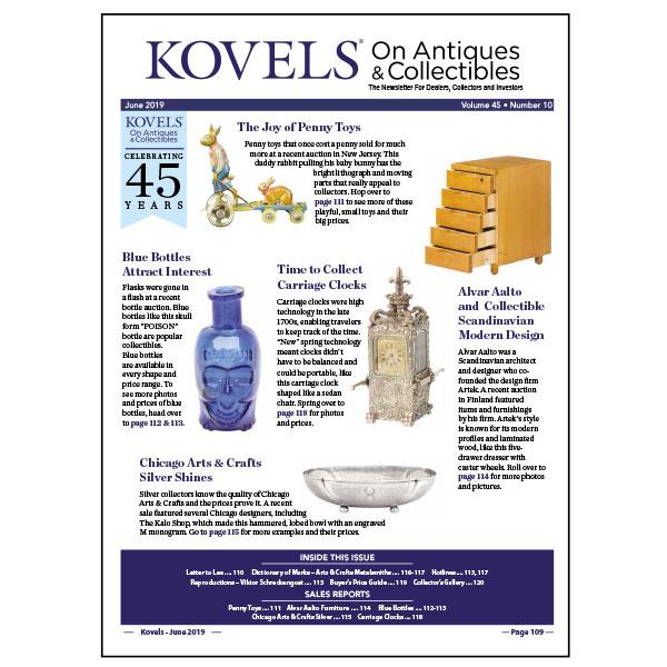 Kovels On Antiques & Collectibles Vol. 45 No. 10 – June 2019