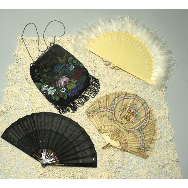 Accessories—Collars, Handbags, Fans, and Gloves