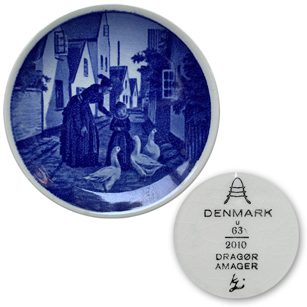 royal copenhagen plate