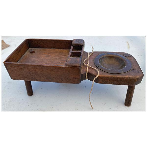 miniature cobbler's bench