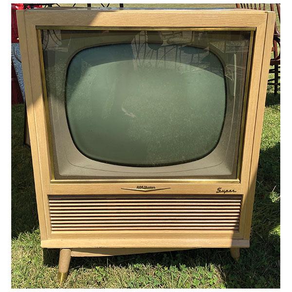 vintage television, rca