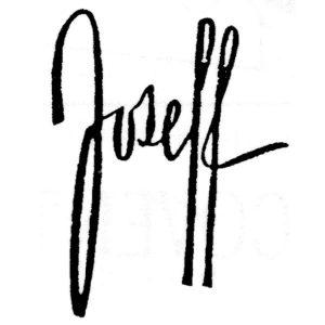Joseff jewelry mark