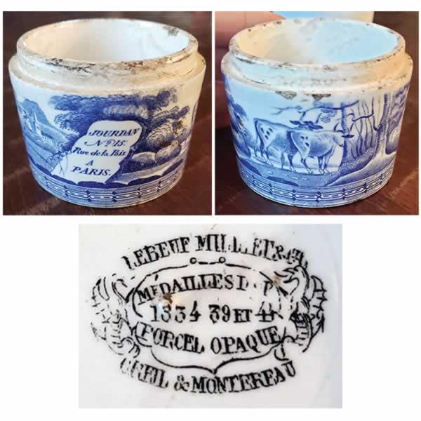 French Ceramic Pot