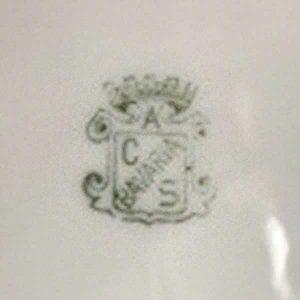 a c s bavaria pottery mark