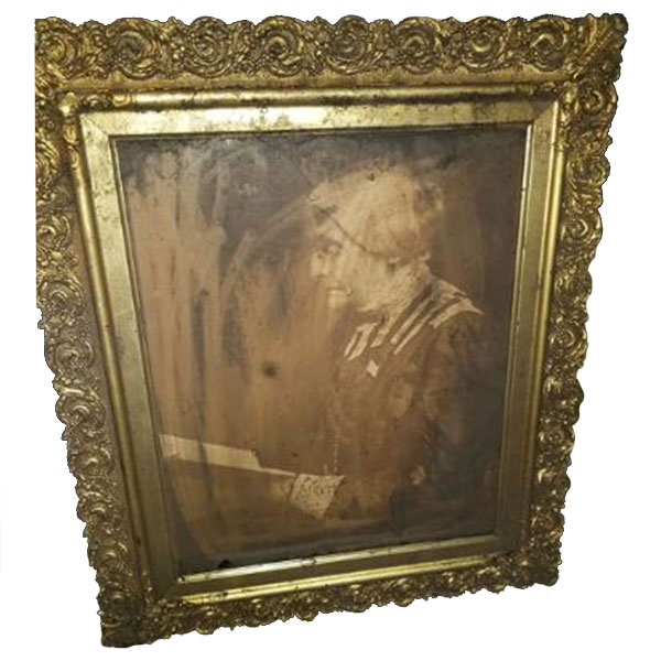 susan b anthony 1905 framed photograph