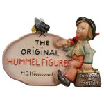 Hummel Figures dealer's plaque