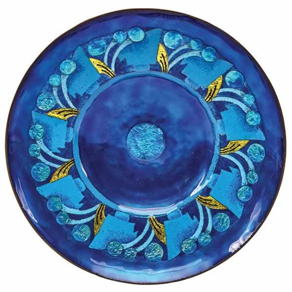 enamel plate, mildred watkins