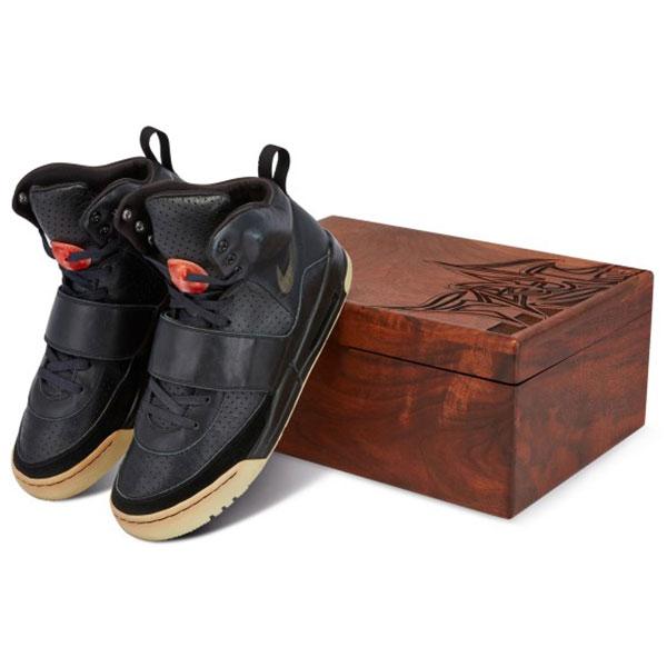kanye west nike air yeezy 1 sneakers prototypes 2008