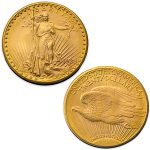 1933 us gold double eagle coin with lady liberty american eagle